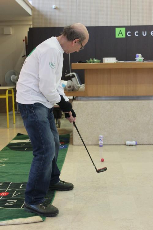 Mini golf IHOPe